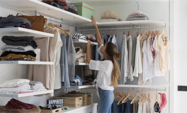 Cómo hacer una mudanza de ropa